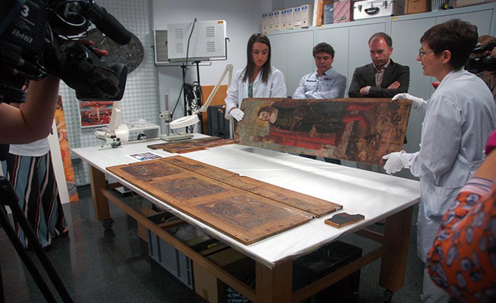 El Museu de Lleida restaura nou objectes del Museu De Guissona