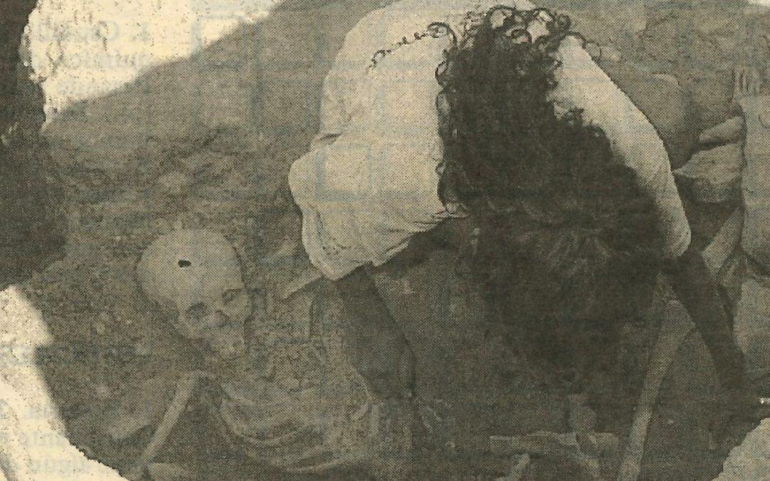 Excavem records 4 – Descobreixen a Guissona un esquelet de més de 2000 anys d'antiguitat.