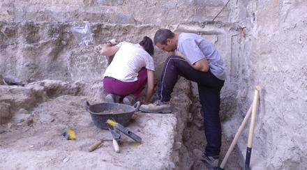 L'ÒSCAR TRULLÀS, Director de la campanya d'excavacions del sector sud de les termes de Iesso ens explica com ha anat la campanya.