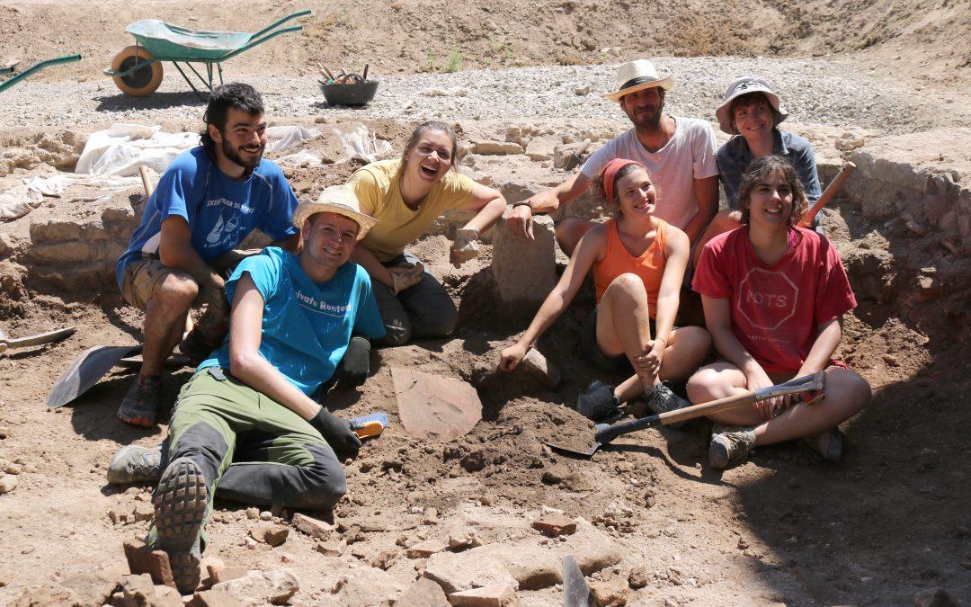 """Finalitza el 13è Curs d'Arqueologia """"Ciutat Romana de Iesso"""" amb troballes singulars"""