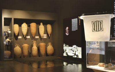 L'Ajuntament de Guissona diposita una urna de l'1 d'octubre del 2017 al Museu de Guissona