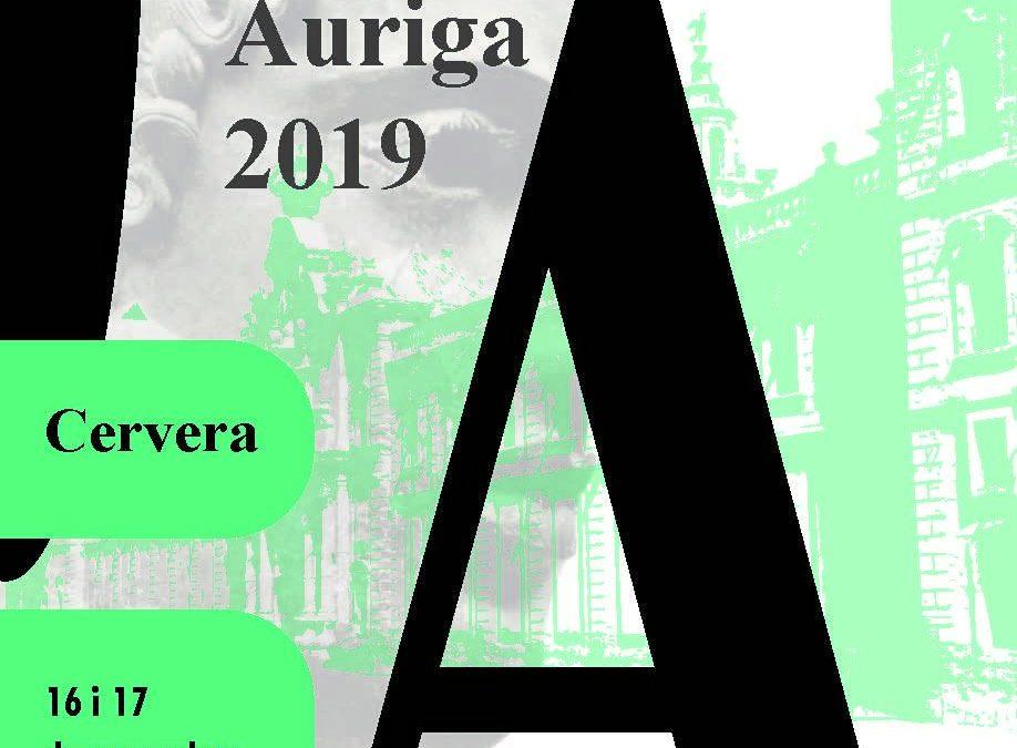 Participem al Fòrum Auriga 2019