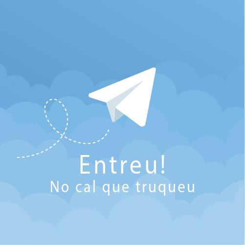 Estrenem canal a Telegram