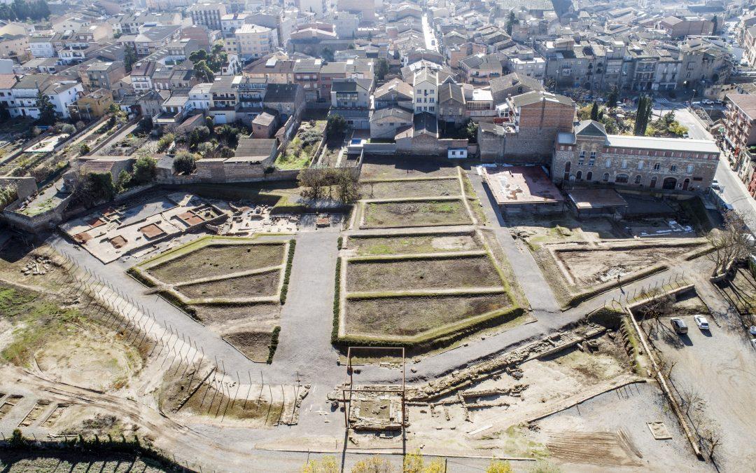 Acord polític del Parlament per impulsar el llegat arqueològic de Guissona